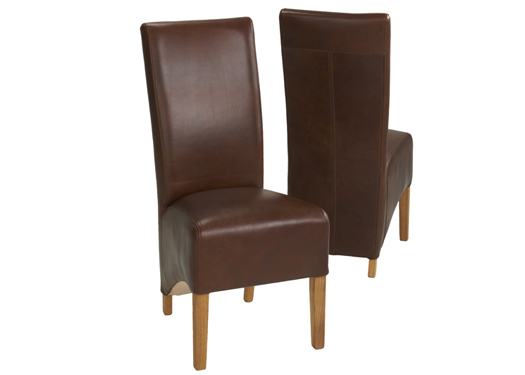 Milan Deep Skirt Dining Chair