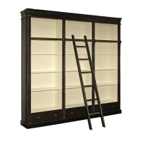 Fay Painted Bookcase with Ladder