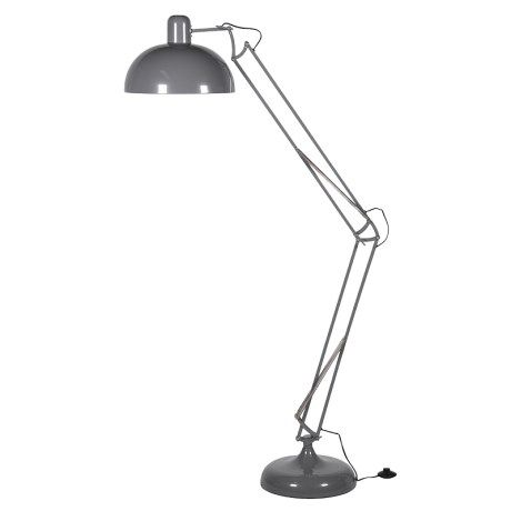Grey Angled Floor Lamp