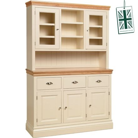 "Linton 4'6""  Painted Glazed Top Dresser"