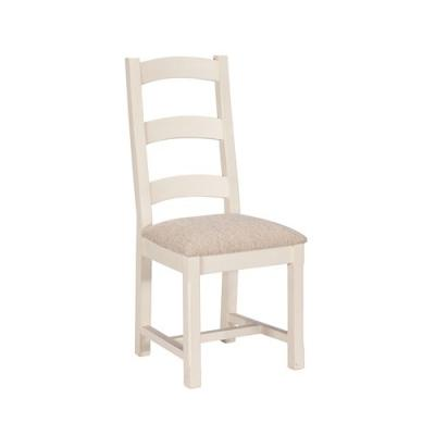 Salcombe Dining Chair with Upholstered Seat