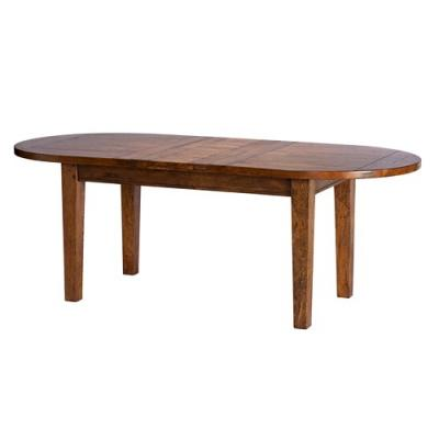 Trowbridge Mango Wood Oval Extending Table