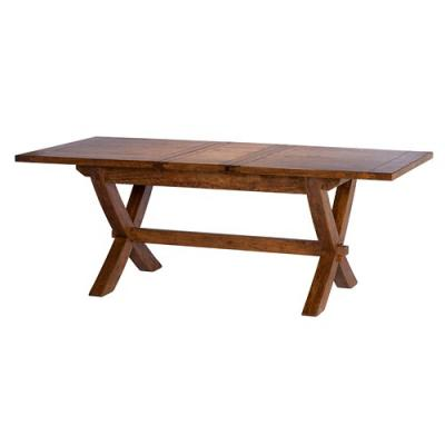 Trowbridge Mango Wood X Leg Extending Table